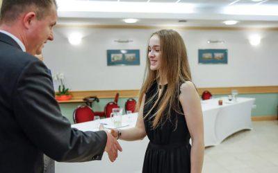 Elismerést kapott elmúlt éves teljesítményéért a fiatal dunaharaszti karatéka