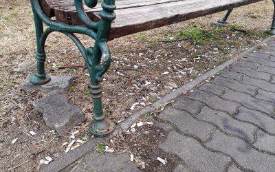 Megszámlálhatatlan csikk mérgezi Dunaharasztit