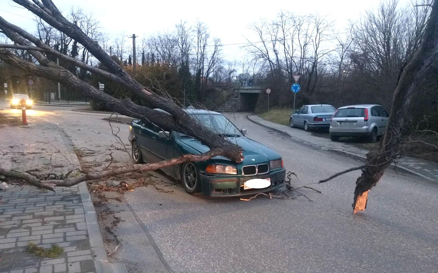 Nagy károkat okozott térségünkben a viharos szél