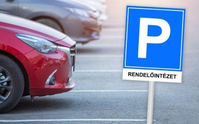 Megkezdik az új orvosi rendelőhöz szánt parkoló építését