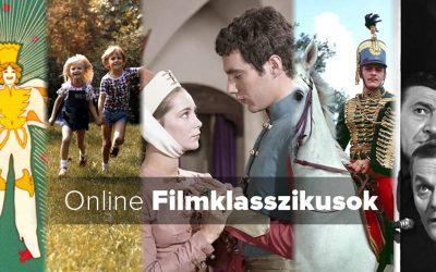 Filmklasszikusok, köztük kötelező olvasmányok filmváltozatai a neten