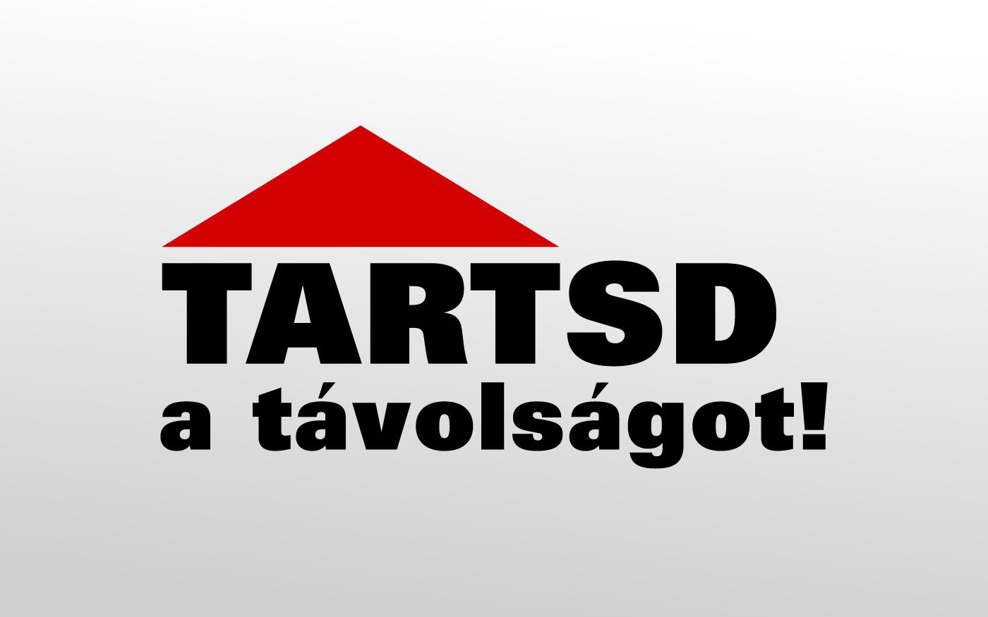 Tartsd a távolságot! Ezt kéri Dunaharaszti Önkormányzatának bolti tájékoztató kampánya