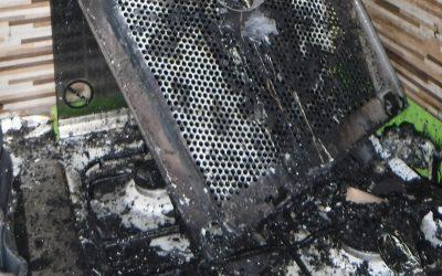 Egy hajszálon múlott, hogy nem lett nagyobb baj a tűzhelyen felejtett olajból
