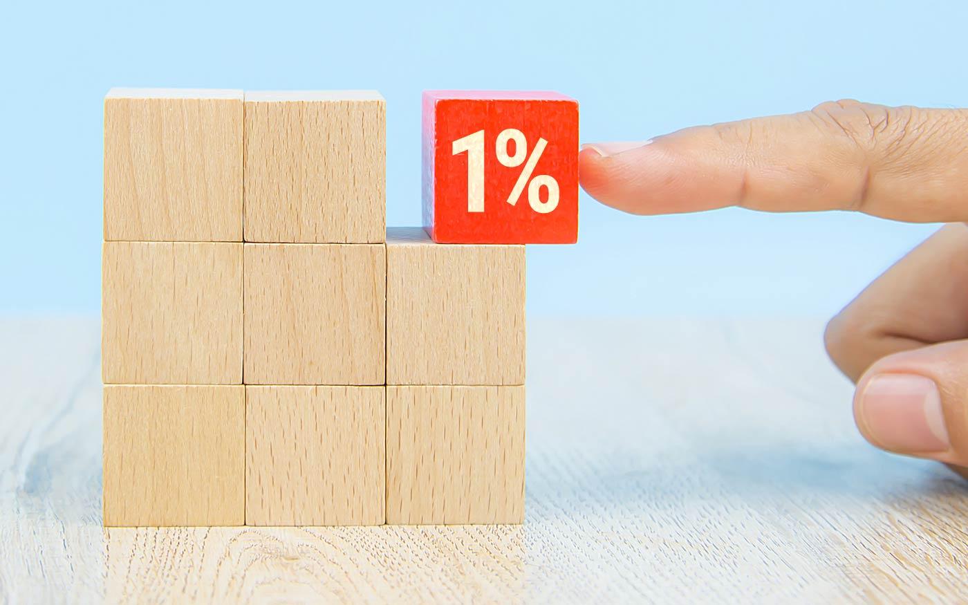 Ne feledkezzen el az 1+1 százalékról! Gyorsabban elintézheti mint egy pizzarendelést