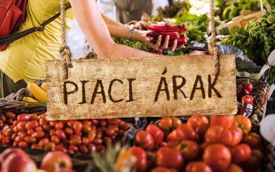 Árkörkép Dunaharaszti piacáról