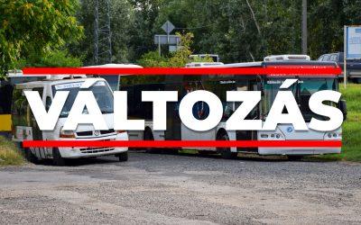 Ismét változik Dunaharaszti helyi buszainak menetrendje, a HÉV pedig a hétvégén jár más rend szerint