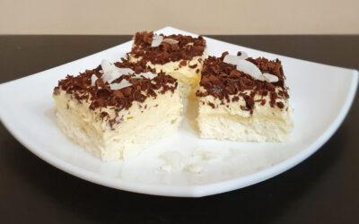 Habkönnyű kókuszos sütike