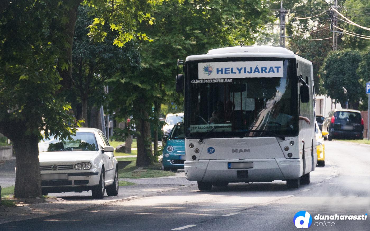 Dunaharaszti buszjáratain is kötelező a maszkviselés