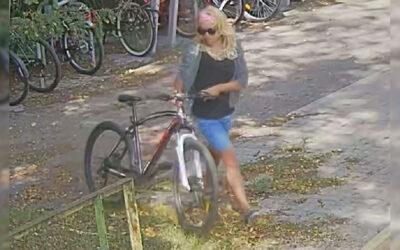 Keresi a rendőrség ezt a nőt: a gyanú szerint Dunaharasztiról lopott biciklit