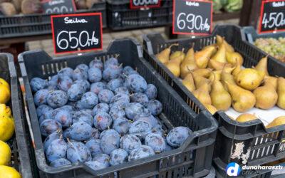 Óriási kínálat Dunaharaszti piacán