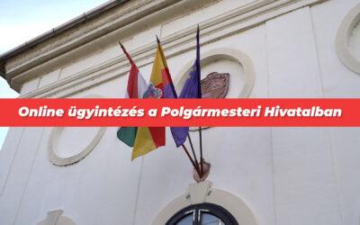 Ismét online ügyintézésre tér át Dunaharaszti Polgármesteri Hivatala