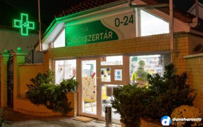 A kijárási korlátozás alatt is nyitva tart Dunaharaszti éjjel-nappali gyógyszertára