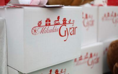 Idén áruházi gyűjtőpontokon, és a postákon várja az adományokat a MikulásGyár