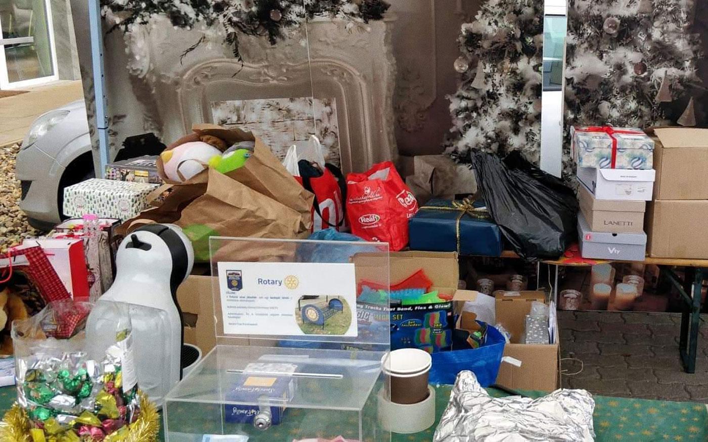 A rászoruló családokat segíti a dunaharaszti Rotary Club