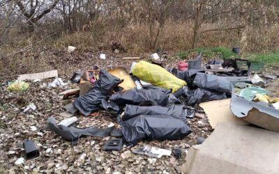 Ismét illegális szemétkupacról futott be jelzés Dunaharasztin