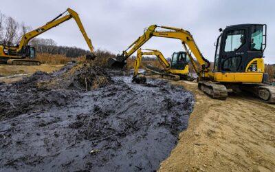 Teljes erőbedobással dolgoznak a szigetszentmiklósi olajszennyezésnél
