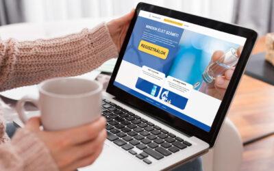 Már lehet regisztrálni a koronavírus elleni oltásra
