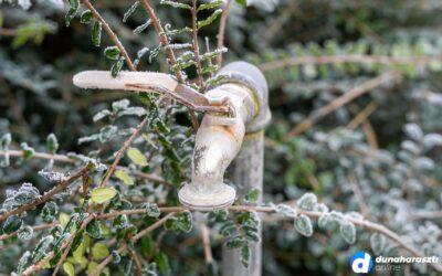 Elfagyhatnak a nem rendesen téliesített vízvezetékek és vízórák