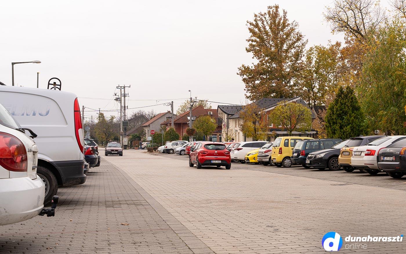 Új parkolási rend Dunaharasztin