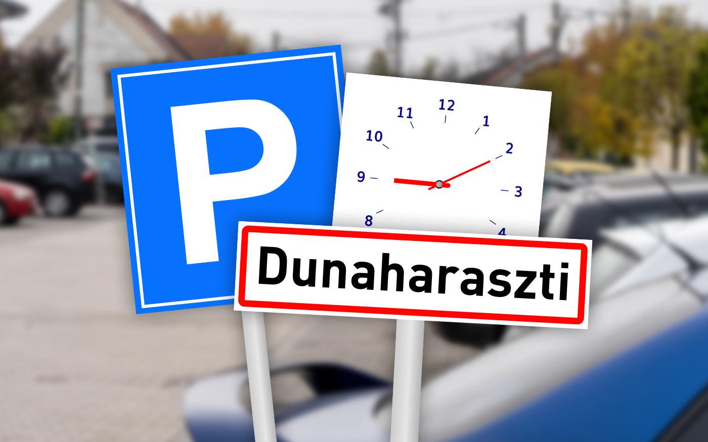 Pontosította az új parkolási rendről szóló információkat Dunaharaszti önkormányzata