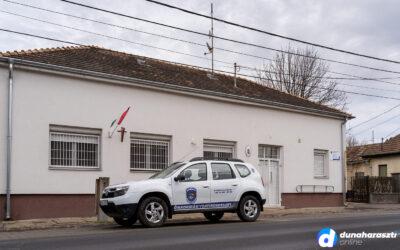 Új helyen a Rendészeti Iroda Dunaharasztin