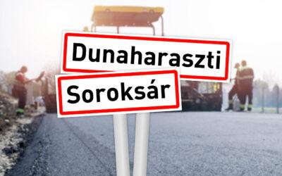 Útfejlesztésről egyeztettek Dunaharaszti és Soroksár polgármesterei