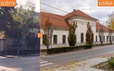 Hasonlítsa össze a Városháza jelen arculatát a régivel!