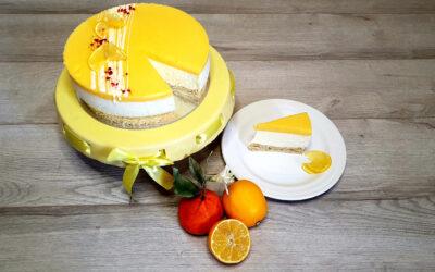 Meyer citromos túrótorta