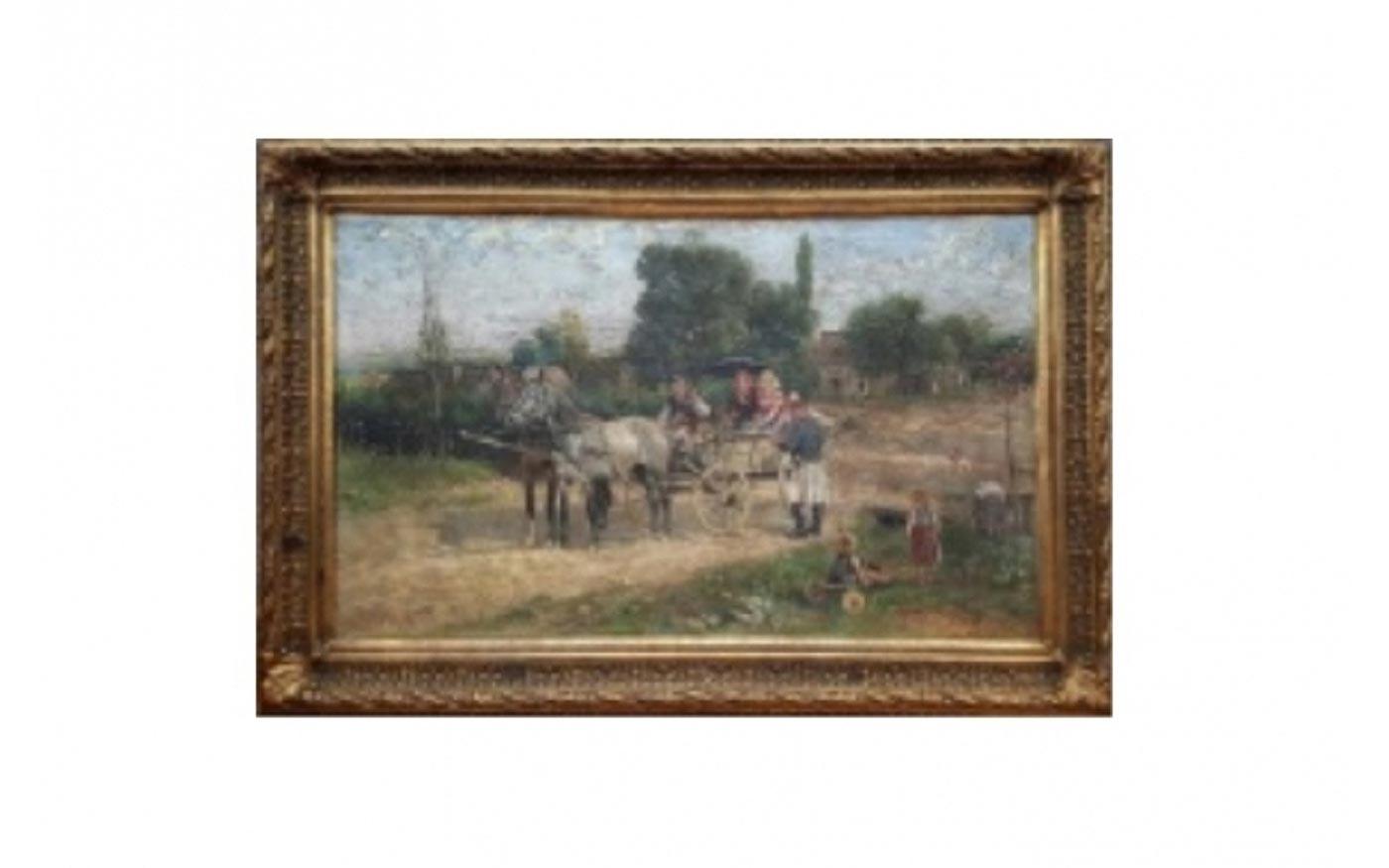 Drága festményt loptak el Soroksárról