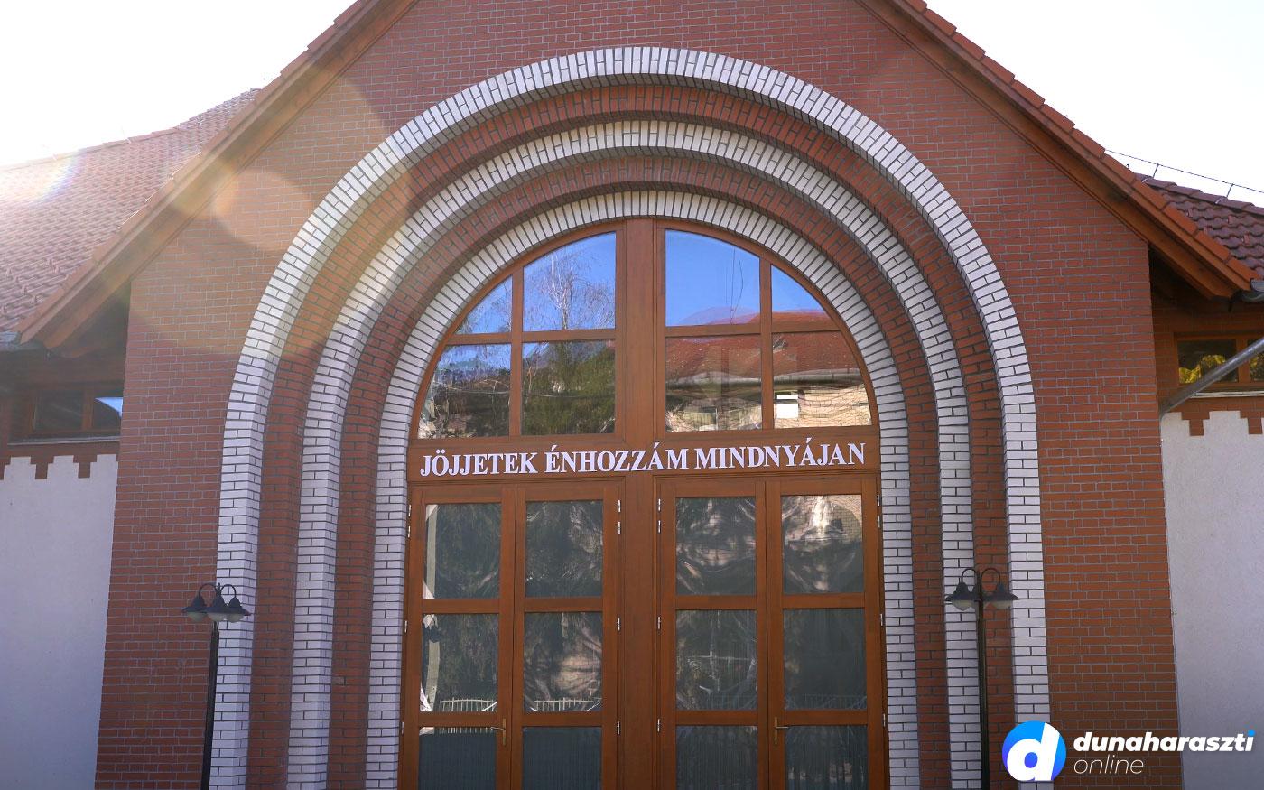 Állami pályázaton nyert támogatást a Dunaharaszti Református közösség