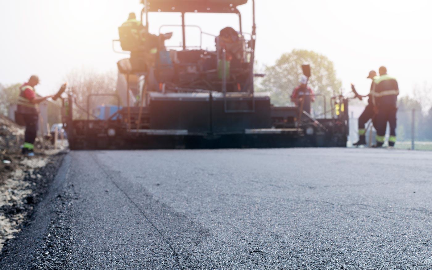 Helyszínbejárás a taksonyi Fő út felújítása előtt