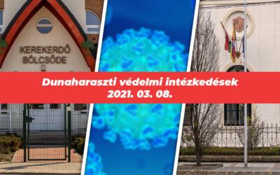 Összefoglaló a Dunaharasztin érvényes járványellenes szabályokról