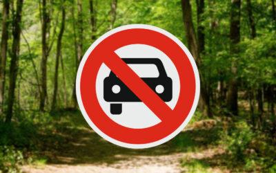 Kizárták a Csatorna-part menti erdőből a járműveket