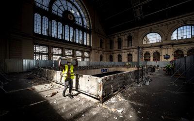 Megkezdődött az új utascentrum építése a Keleti pályaudvaron