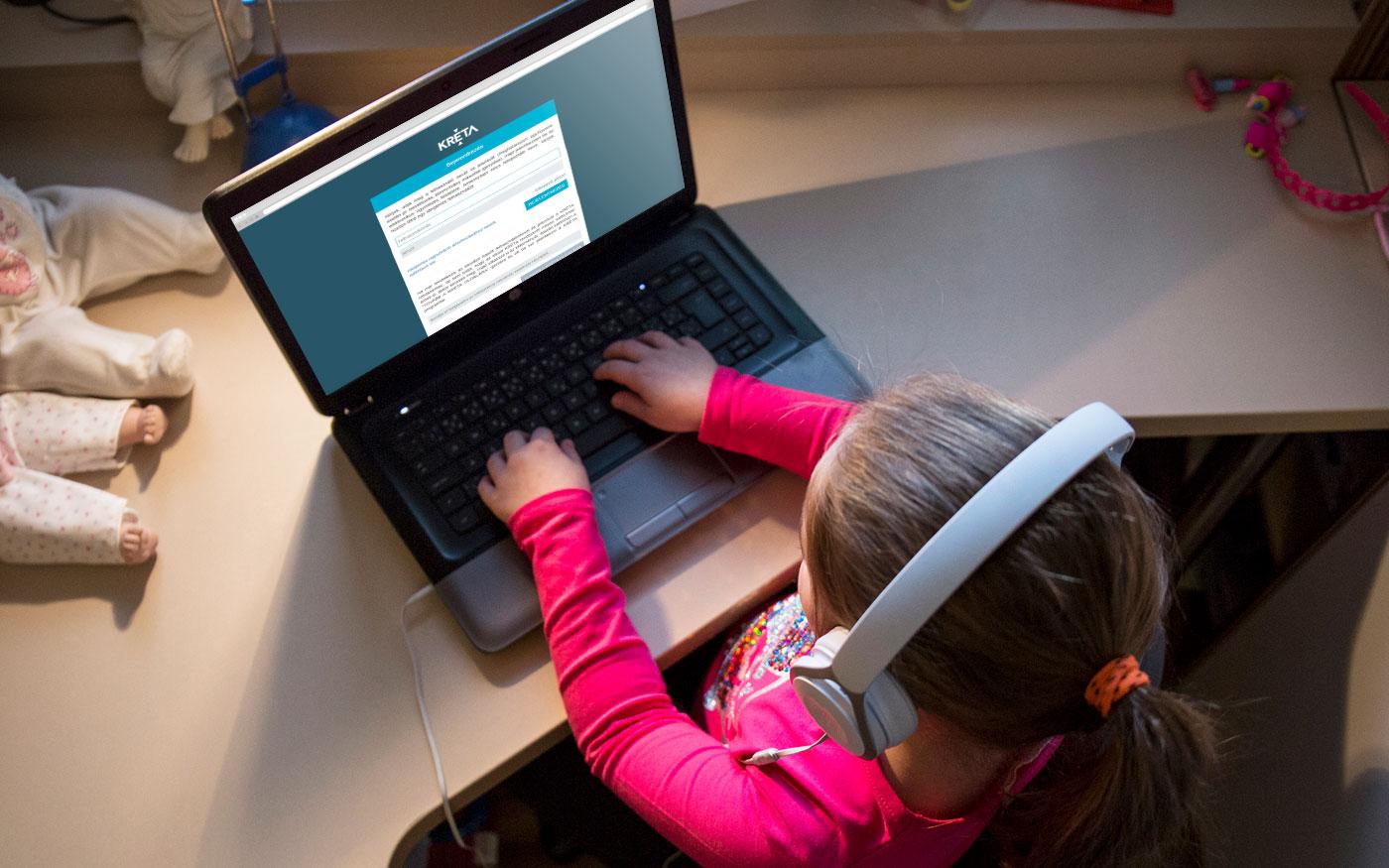 Adminisztrációs hiba okozott gondot az egyik dunaharaszti iskola online oktatásában