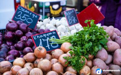 Húsvét előtti roham a piacon