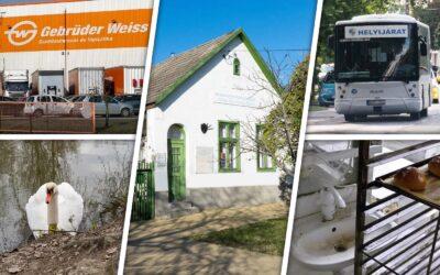 Bezárt pékség, ingyenes tömegközlekedés, vasúti petíció – heti hírösszefoglaló Dunaharasztiról