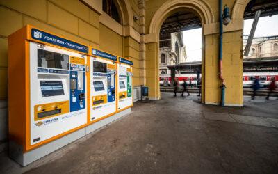 Új típusú jegy- és bérletautomatákat tesztel a MÁV