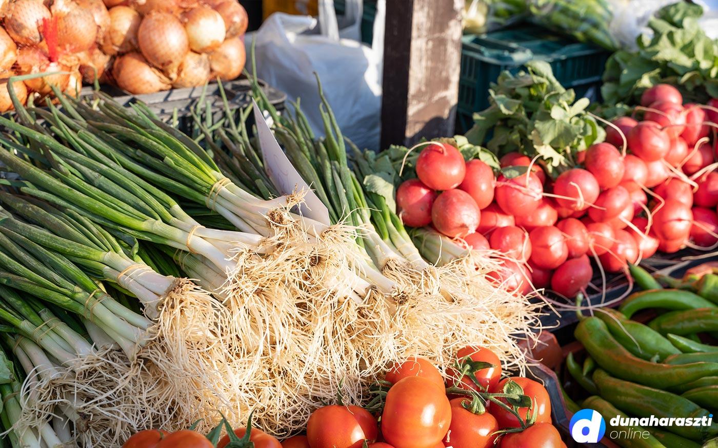 Friss árak Dunaharaszti piacáról