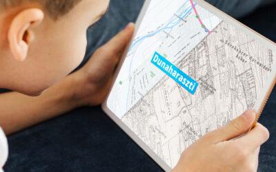 Térképes időgép Dunaharasztiról