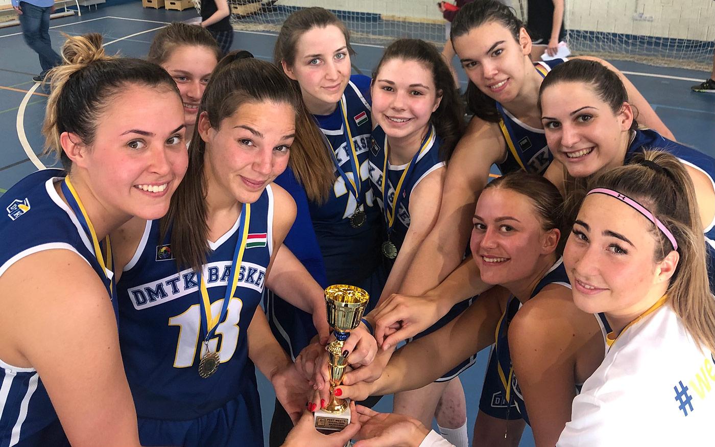 Megyei bajnok a DMTK felnőtt női kosárlabdacsapata!