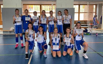 Megyei bajnok lett a DMTK U12-es leány kosárlabdacsapata