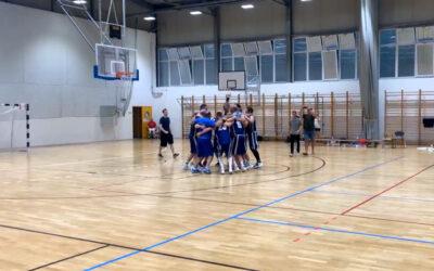 Bajnok a DMTK férfi kosárlabda csapata!