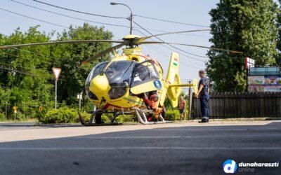 Súlyos baleset Dunaharasztin