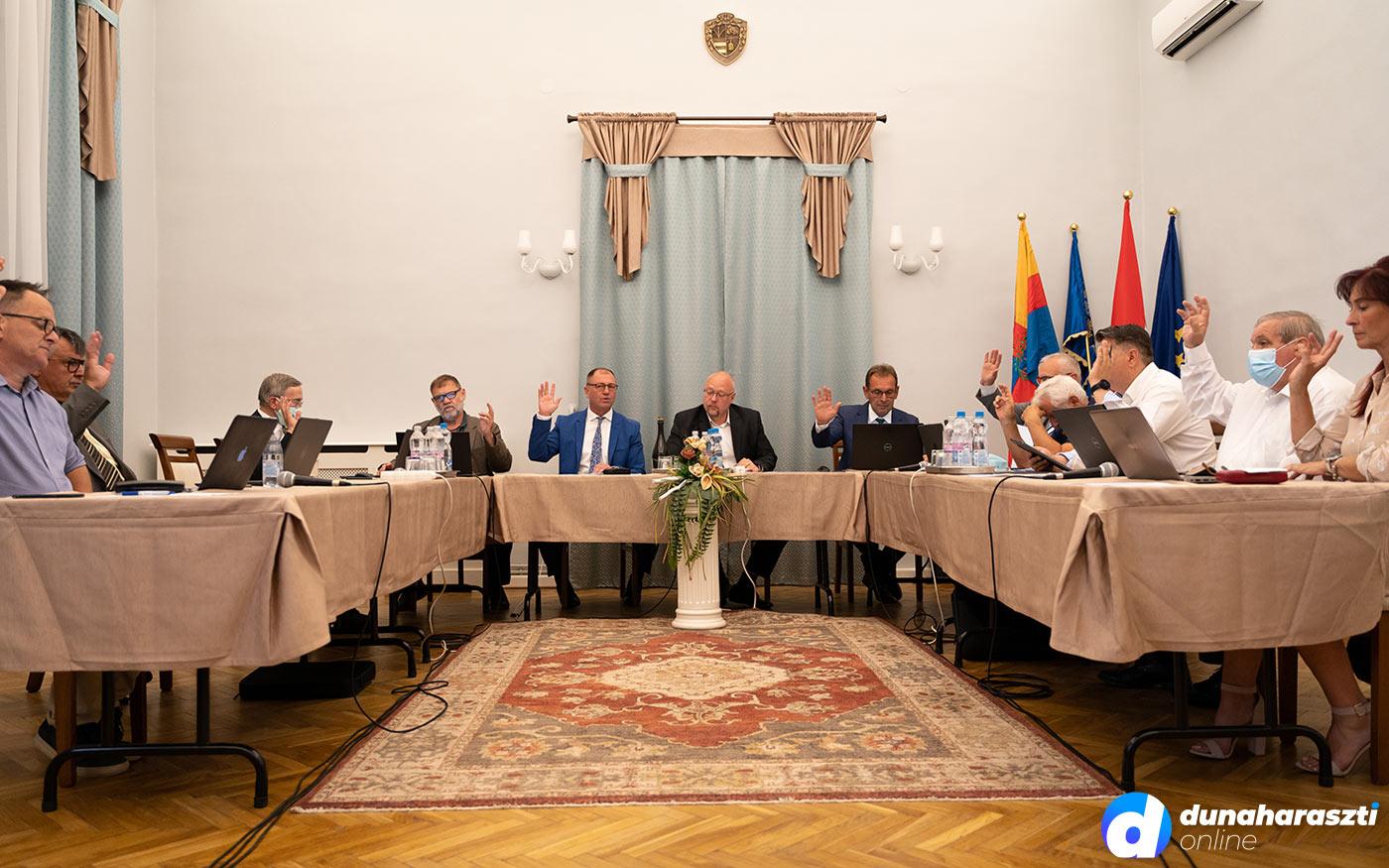 Döntések Dunaharaszti képviselő-testületének ülésén
