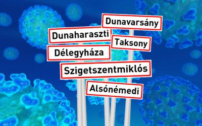 Településszintű adatok a koronavírus áldozatairól