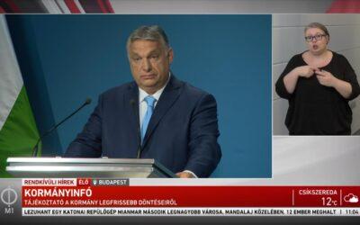 Orbán Viktor: kezdődik a gyerekek oltása