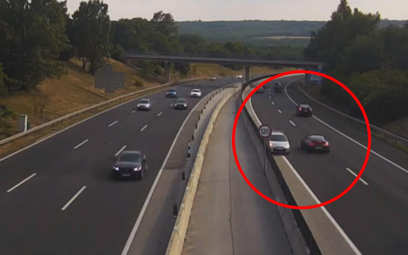 Forgalommal szemben az M0-on és az M3 autópályán