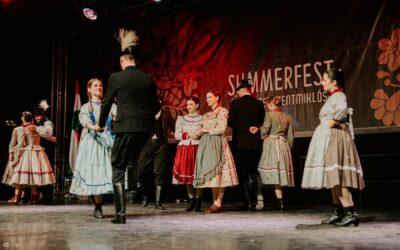 Itt a 28. Summerfest Nemzetközi Folklórfesztivál