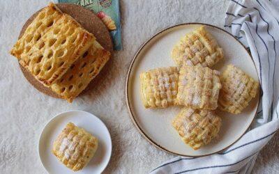 Túrós-almás párnácska